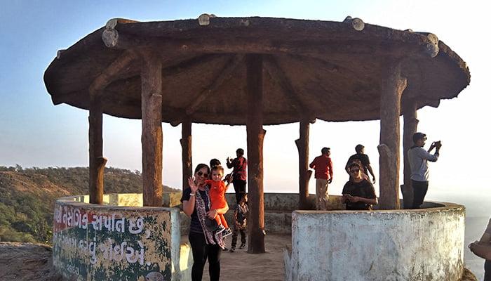 Sunset at Ratanmahal